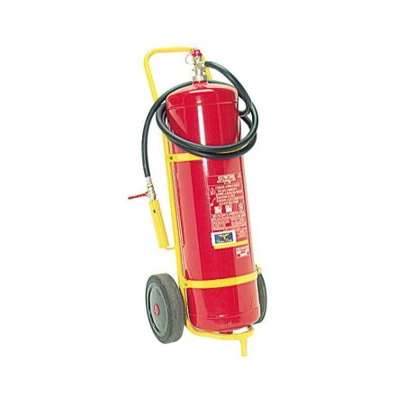 estintore carrellato Wheeled foam extinguisher