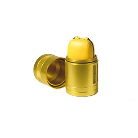 The Safelink PLB dive canister